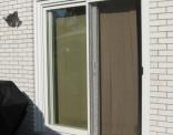 6' Inline Patio Door Outside