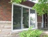 9' Inline Patio Door Outside