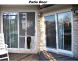 Fibreglass Patio Door Before and After