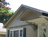 Fascia Soffit Board and Batten After