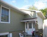 Cypress Green Siding, Eaves Fascia Soffit After 2
