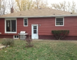 Rustic Red Siding Rear House View