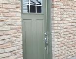 Custom Mountain Arbor Steel Door