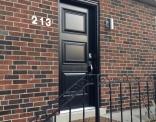 Dorplex Black Executive Steel Door