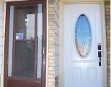 Simcoe Front Steel Door Before and After