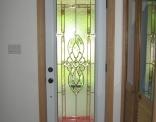 Full View Steel Door with Copper Caming Inside