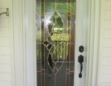 Full View Steel Door with Copper Caming Outside