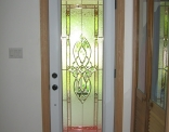Full View Steel Door with Copper Caming Inside