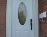 Oval Door Outside