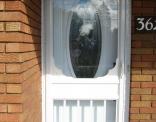 Victoria 2 Storm Door in White