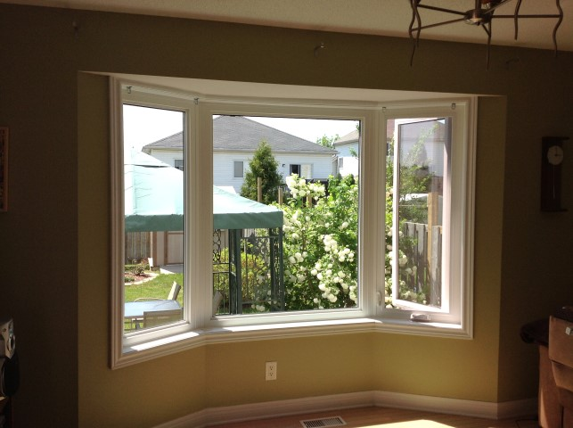 Gallery of installations for What to put in front of a bay window