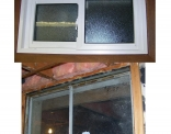 Basement Window Inside Before and After