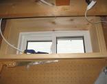 Basement Window Trimmed Up