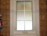 Bathroom Window Vinyl Trim