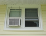 Double Hungs After Air Conditioner Reinstalled