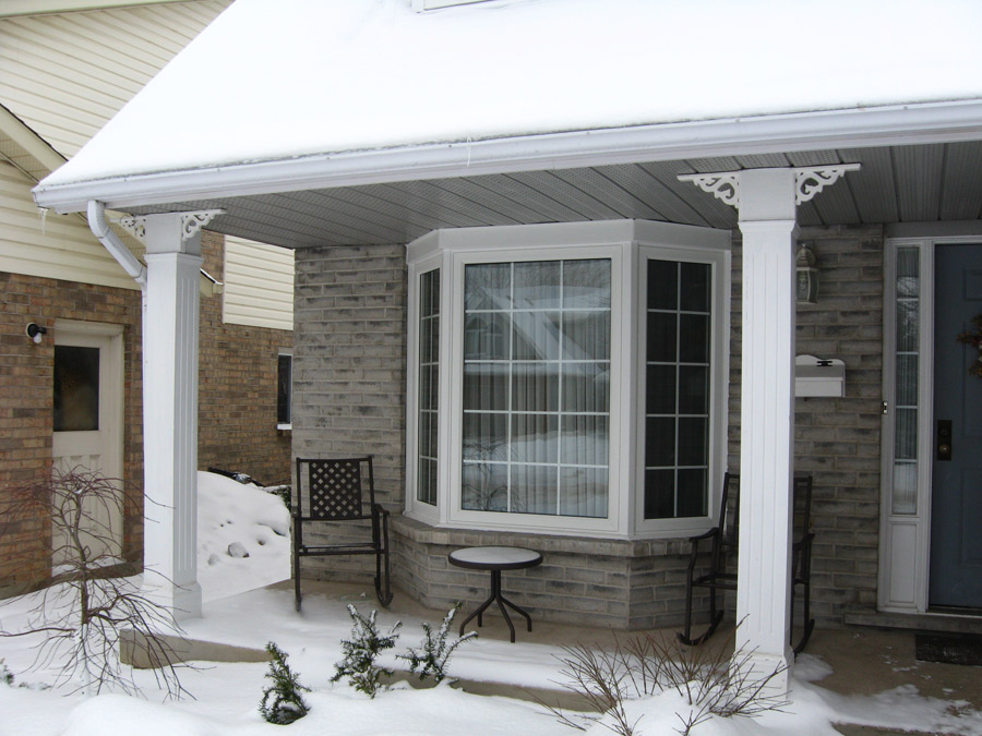 Replacement windows for What to put in front of a bay window