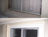 Basement Window Outside Before and After