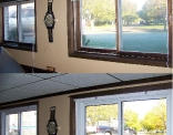 Rec Room Windows before and after
